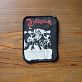 WHITESNAKE Live...in the Heart of the City vintage printed patch