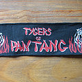 Tygers Of Pan Tang - Patch - Rare-as-Hell TYGERS OF PAN TANG Wildcat vintage printed strip