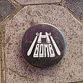 H-Bomb - Pin / Badge - H-BOMB first logo original button