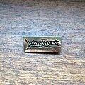 Judas Priest - Pin / Badge - JUDAS PRIEST late 1970s etched brass brooch