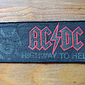 AC/DC - Patch - AC/DC Highway To Hell vintage printed strip