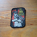 Def Leppard - Patch - DEF LEPPARD leopard-man vintage printed patch