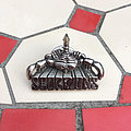 Scorpions - Pin / Badge - SCORPIONS 1980s Poker cast pewter pin