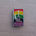 Rainbow - Pin / Badge - RAINBOW Ritchie Blackmore's Rainbow Clubman 1980s metal pin