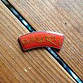 David Lee Roth - Pin / Badge - DAVID LEE ROTH Crazy From The Heat vtg enameled pin