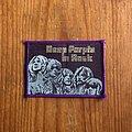 Deep Purple - Patch - DEEP PURPLE In Rock original woven patch (purple border)