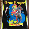 Grim Reaper - Other Collectable - GRIM REAPER See You In Hell original black light poster
