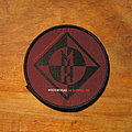 Machine Head - Patch - MACHINE HEAD The Burning Red original circle woven patch