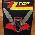 ZZ Top - Patch - ZZ TOP Eliminator 1980s backpatch