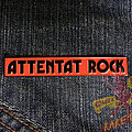 ATTENTAT ROCK Le Gang Des Saigneurs' logo official soft enamel pin