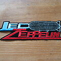 Led Zeppelin - Patch - LED ZEPPELIN dirigible logo c1990 embroidered shaped patch