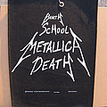 Metallica - Patch - METALLICA Birth School Metallica Death original backpatch