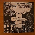 signed Doom/ Extinction of Mankind- Doomed to extinction split 7""