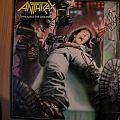 signed Anthrax- Spreading the disease lp