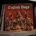 Other Collectable - signed English Dogs- Invasion of the porky men lp Clay Records 1984