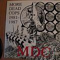signed M.D.C.- More Dead Cops 1981- 1987 compilation lp