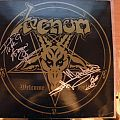 signed Venom- Welcome to Hell lp