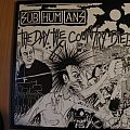 Subhumans- The day the country died lp