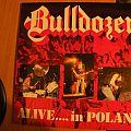 Bulldozer- Alive in Poland lp