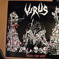 Virus - Tape / Vinyl / CD / Recording etc - Virus- Pray for war lp