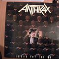 signed Anthrax- Among the living lp
