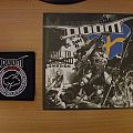 signed Doom- Hail to Sweden 7""