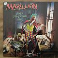signed Marillion- Script for a jester's tear lp