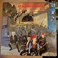 signed The Exploited- Troops of tomorrow lp