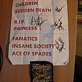 fully signed Wrath- Stonehenge 2015 setlist