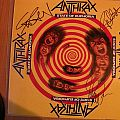 signed Anthrax- State of euphoria lp