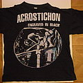 Acrostichon- Engraved in black shirt