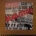 """signed The Exploited- Dead cities 7"""""""