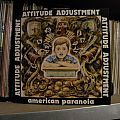 Other Collectable - signed Attitude Adjustment- American paranoia Pusmort Records 1986