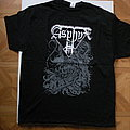 Asphyx- Krushing Europe 2018 tourshirt