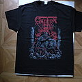 Asphyx- Forerunners of death 2019 tourshirt