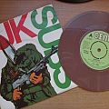 signed UK Subs- Warhead 7""