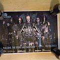 Vulcano/ Nifelheim gig poster