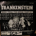 signed Frankenstein- Back from the grave tour 1984 7""