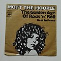 "Mott The Hoople - Tape / Vinyl / CD / Recording etc - Mott The Hoople- The golden age of rock 'n'roll/ Rest in peace 7"""