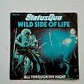 """Status Quo - Tape / Vinyl / CD / Recording etc - Status Quo- Wild side of life/ All through the night  7"""""""