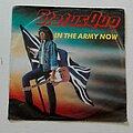 """Status Quo - Tape / Vinyl / CD / Recording etc - Status Quo- In the army now/ Heartburn  7"""""""