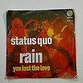 """Status Quo - Tape / Vinyl / CD / Recording etc - Status Quo- Rain 7"""""""
