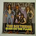 """The Sweet - Tape / Vinyl / CD / Recording etc - The Sweet- The Six teens/ Burn on the flame 7"""""""