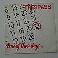 "Trespass - Tape / Vinyl / CD / Recording etc - Trespass- One of these days 7"""
