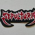 Sepultura - Patch - Sepultura logo patch