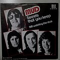 "Mud - Tape / Vinyl / CD / Recording etc - Mud- Secrets that you keep/ Still watching the clock 7"""
