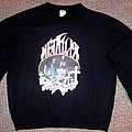 metallica sweater made from vintage transfer TShirt or Longsleeve