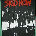 "Skid Row: ""Skid Row"" Official Vintage Backpatch"