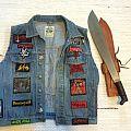 My Vest - Machete for scale Battle Jacket