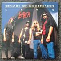 Slayer - Tape / Vinyl / CD / Recording etc - Slayer - Decade of Aggression Live LP